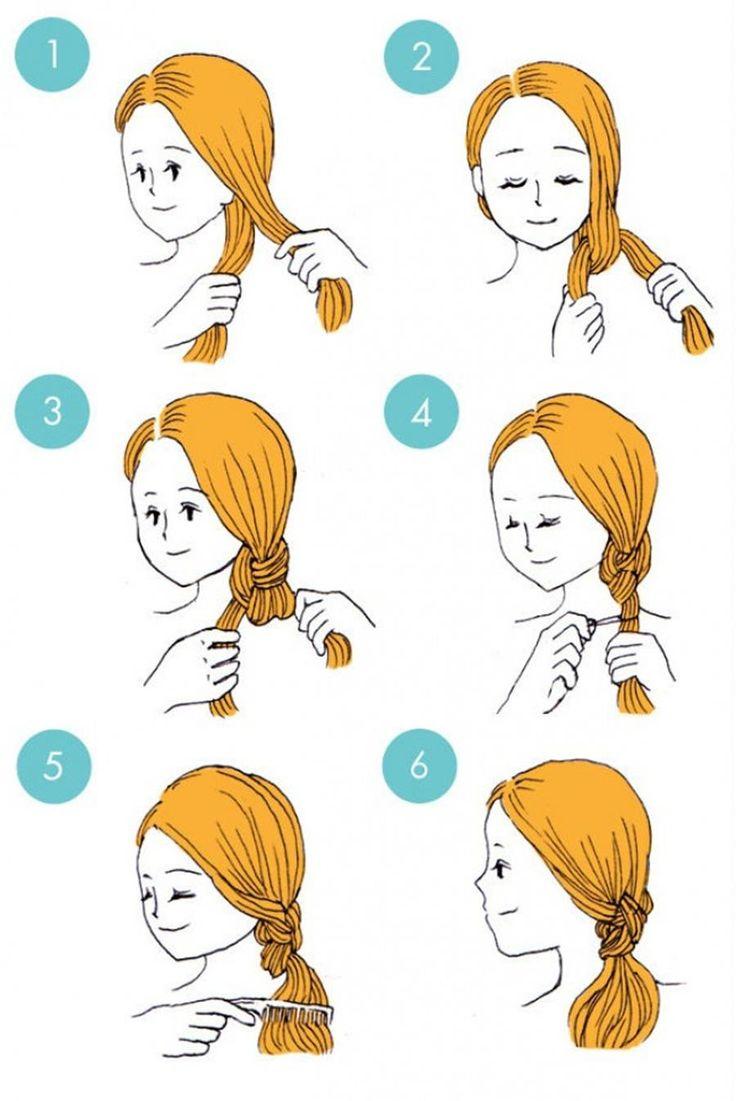 Как сделать короткую прическу самому себе