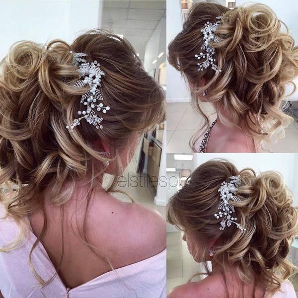 Wedding Hairstyles Half Updo Braids Chongos Updo Wedding