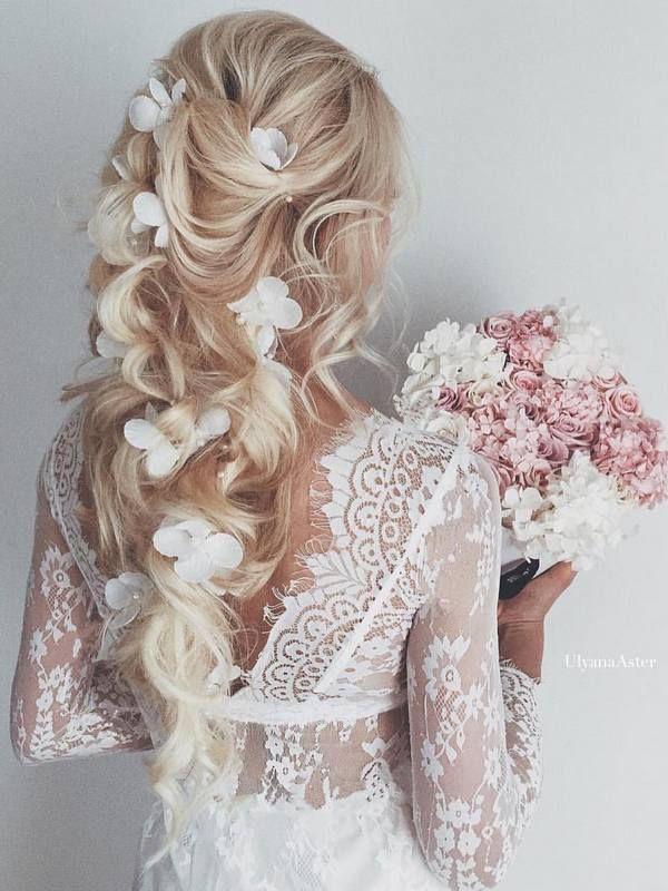 Wedding Hairstyles : Ulyana Aster Long Wedding Hairstyles & Wedding ...