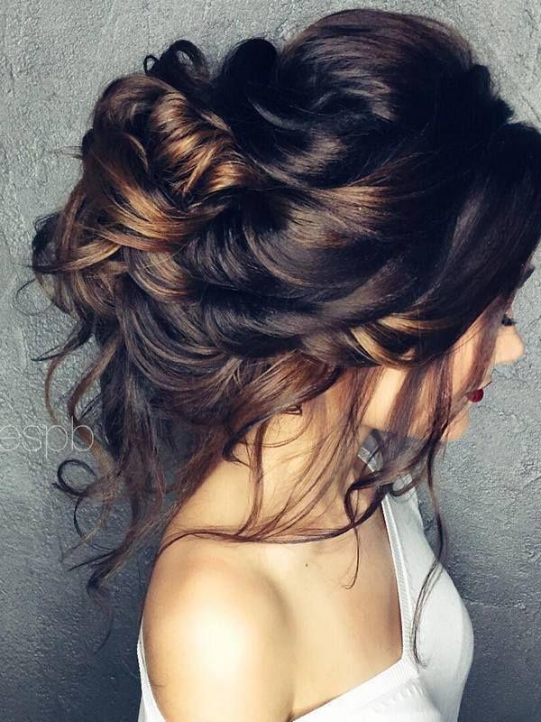Wedding Hairstyles : Half-updo, Braids, Chongos Updo Wedding ...