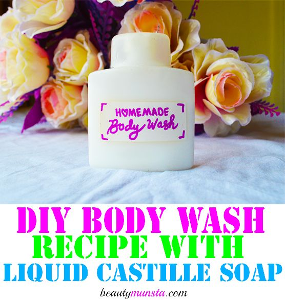 how to make liquid castile soap with lye