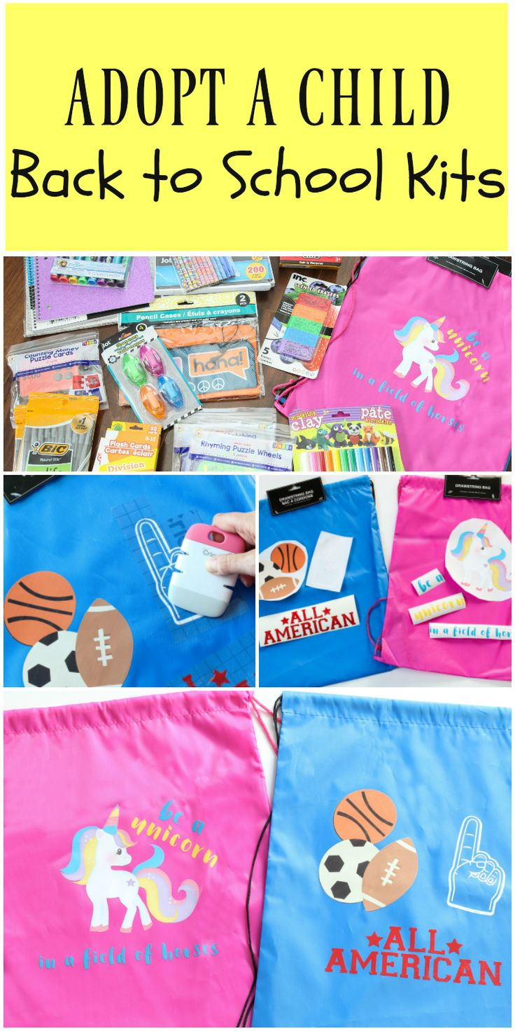 Best Ideas For Diy Crafts Diy Back To School Kits Adopt A Child