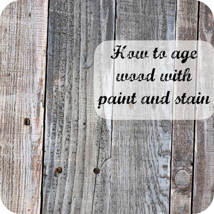 Diy tutorial antiquing wood Barnwood Diy Home Listfender Diy Home How To Age Wood With Paint And Stain Listfender