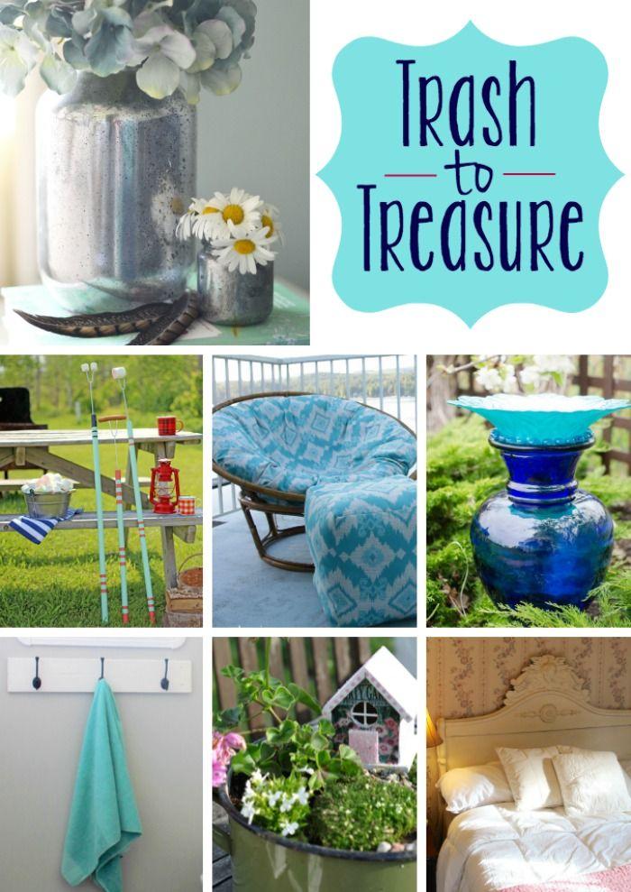Diy Home Trash To Treasure Diy Project Ideas Listfender