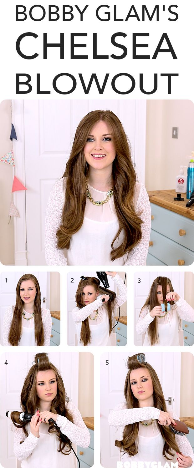 Hair Styles Ideas Bobby Glam S Made In Chelsea Blow Dry Hair