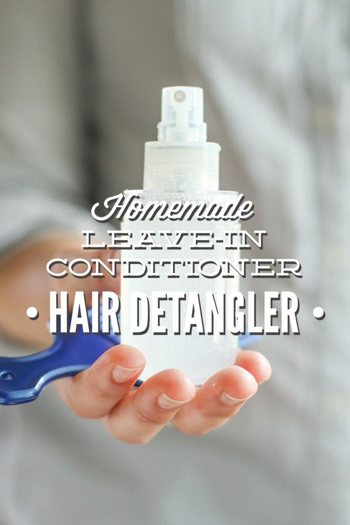 how to make plain coconut oil leave in conditioner
