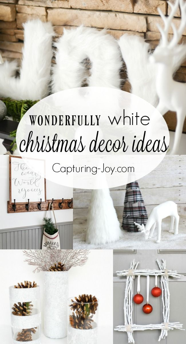 Best Ideas For Diy Crafts 9 Wonderfully White Christmas