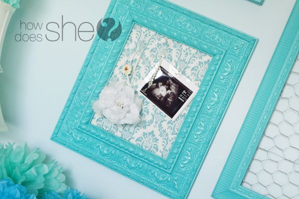 Diy Home Fabric Covered Cork Board In Frame