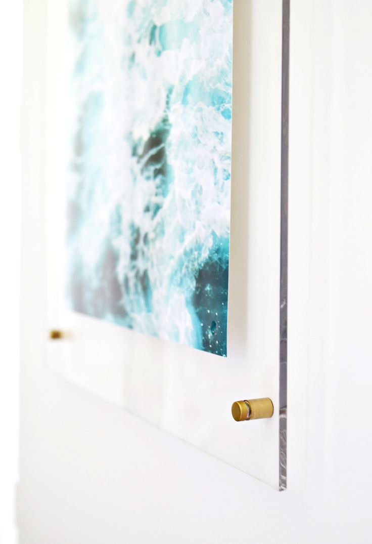 Diy Home : How to make an acrylic frame! Working with #Canon ...