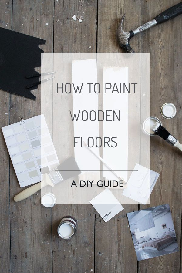 Diy Home How To Paint Wooden Floors A Diy Guide Listfender