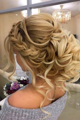 Hair Styles Ideas A Little Bit Messy Prom Hair Updos 1