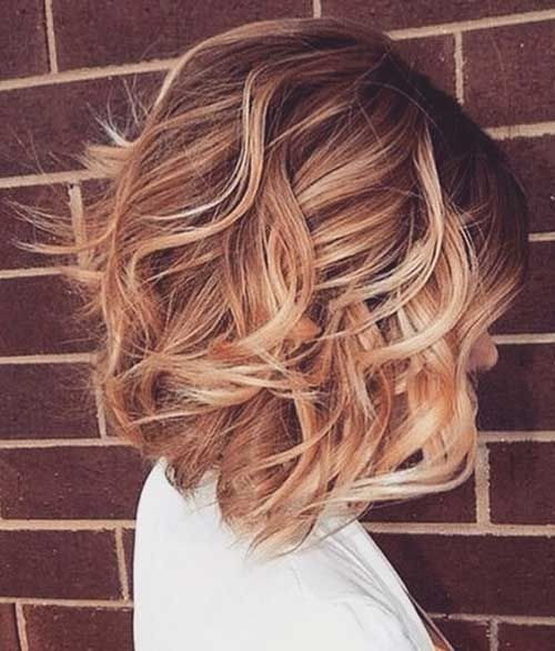 Bob Hair Color Ideas - Curly Short Hairstyles for Women ...