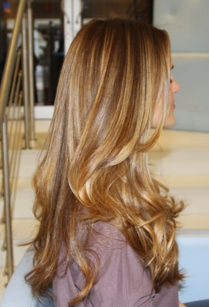 Hair Styles Ideas Dark Medium Blonde With Some Caramel Highlights