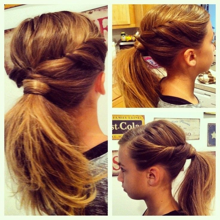 Hair Styles Ideas Easy Ponytail Idea Girls Hairstyles
