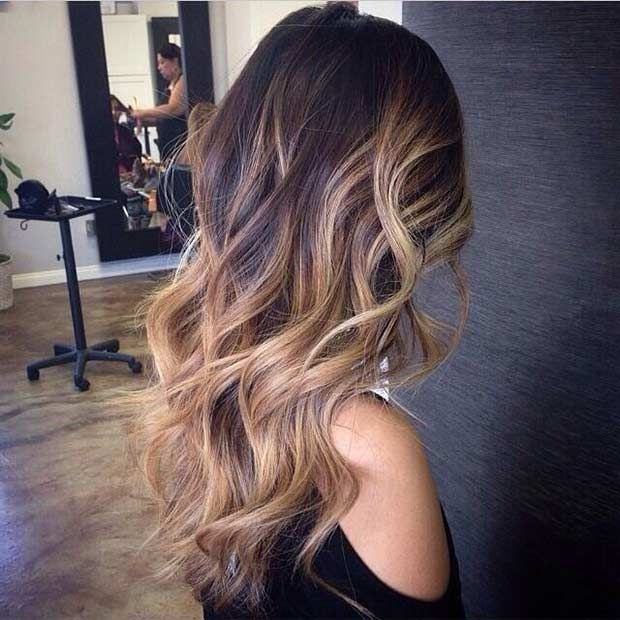 Hair Styles Ideas Honey Blonde Balayage Highlights Auburn Hair