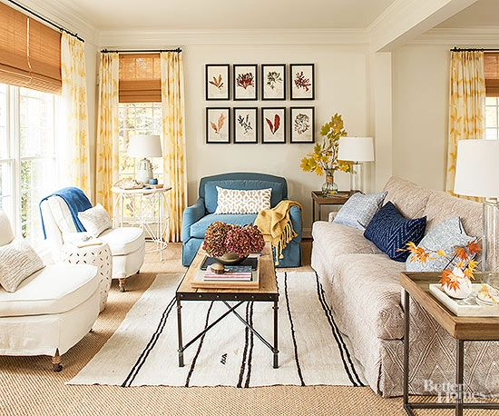 Living room decor if you re feeling bored with your home decor you re not alone these decora - Fall decor trends five tips to spruce up your homes ...