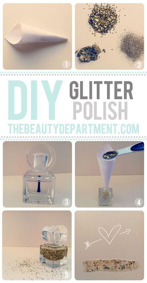 Makeup tips diy glitter polish listfender leading makeup tips solutioingenieria Choice Image