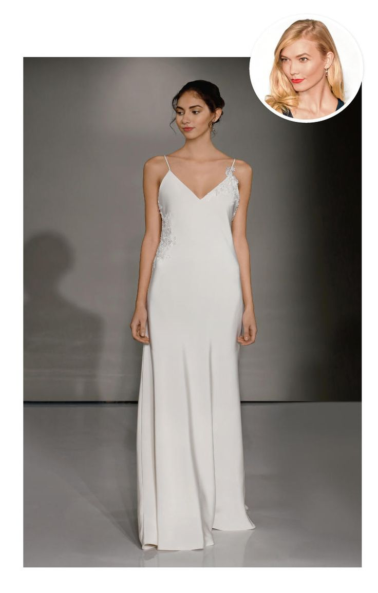 Wedding dresses for a tall and slender figure try a for Tall dresses for weddings