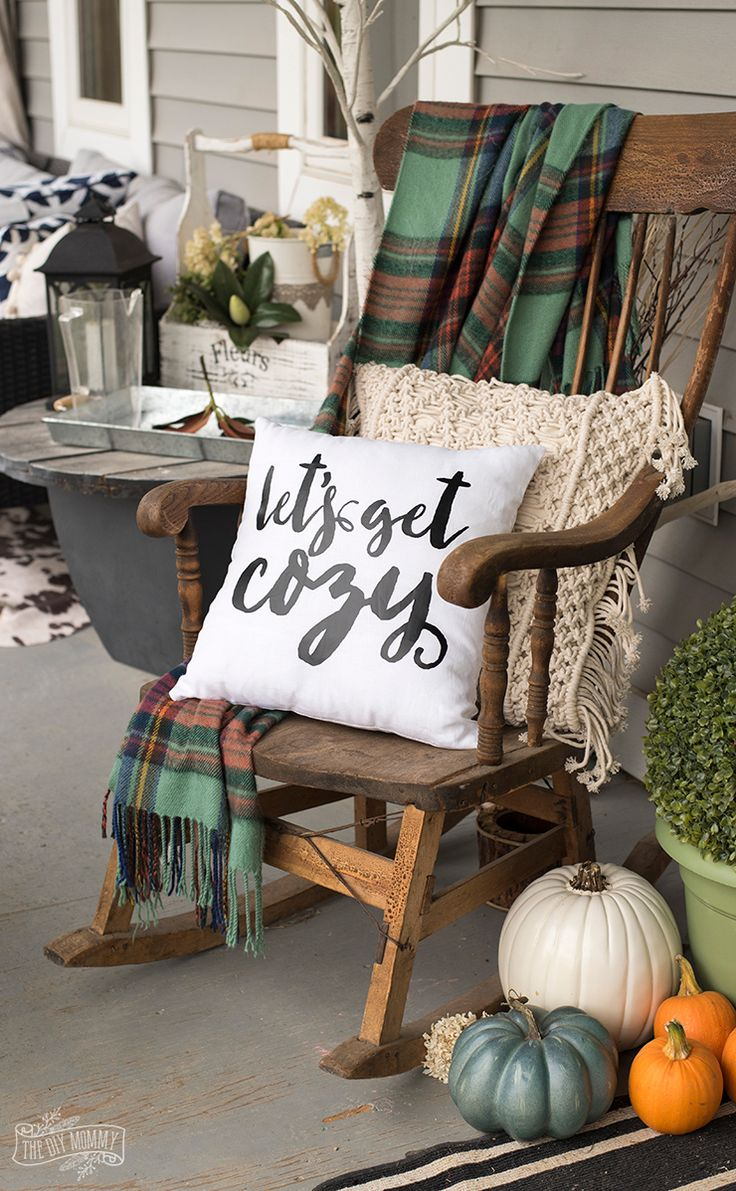 Diy home diy let 39 s get cozy pillow for fall free svg for Diy cozy homes