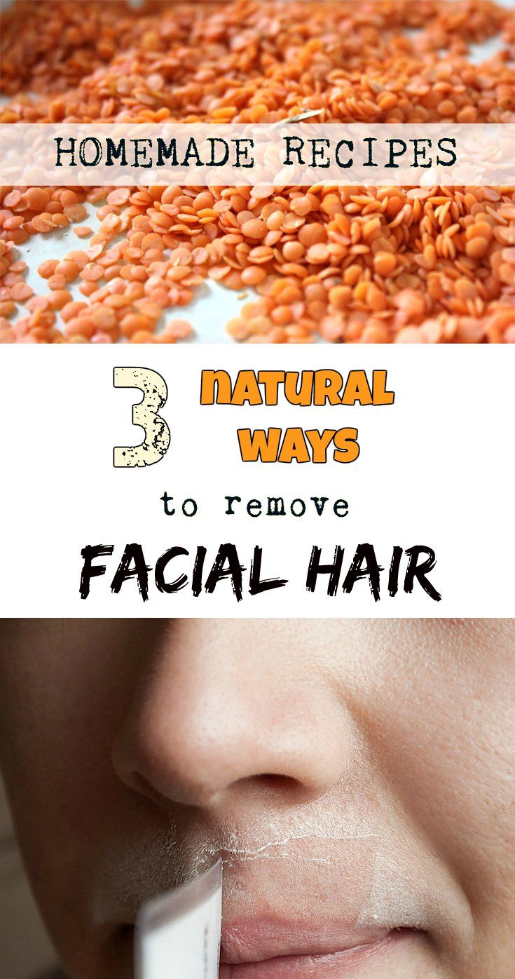 Facial hair removal homemade dare once
