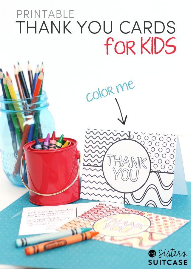 Best Ideas For Diy Crafts Encourage Kids To Send Thank You Cards