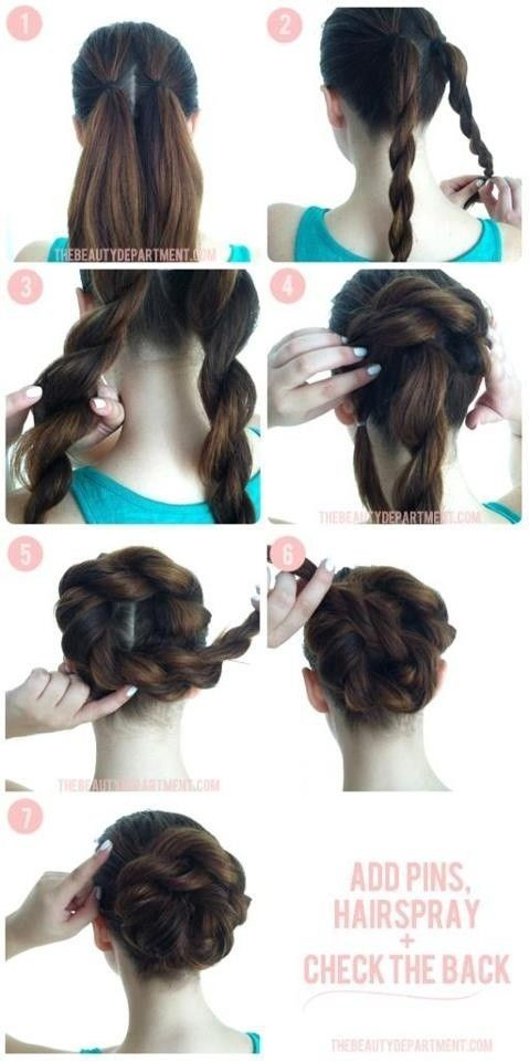 Hair Styles Ideas Easy Prom Updo Tutorial Listfender Leading