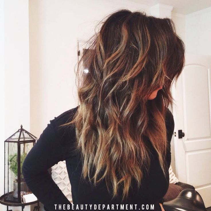 Hair Styles Ideas Long Layered Haircut For Ombre Hair 1