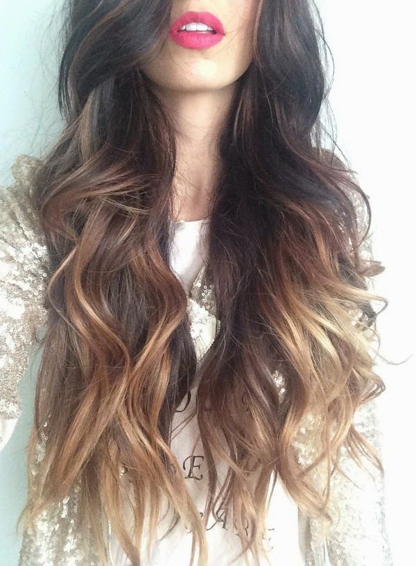 Hair Styles Ideas Long Wavy Ombre Hairstyle Listfender Leading