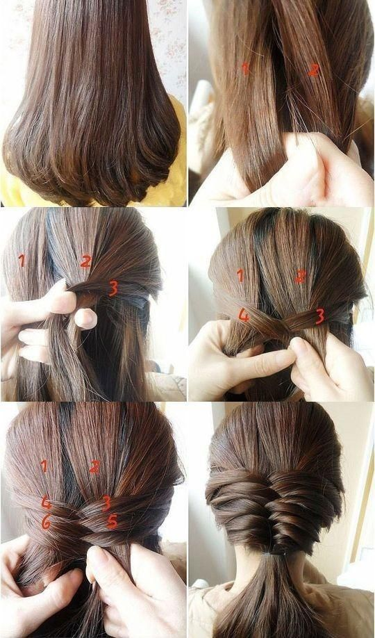 Hair Styles Ideas Low Ponytail For Medium Hair Listfender