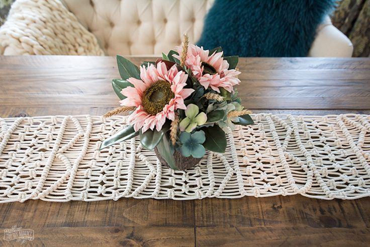 diy home how to make an anthropologie inspired macrame table