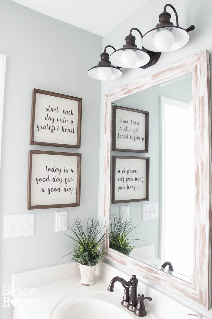 Diy Home Diy Typography Signs From Cast Off Art Home Decor
