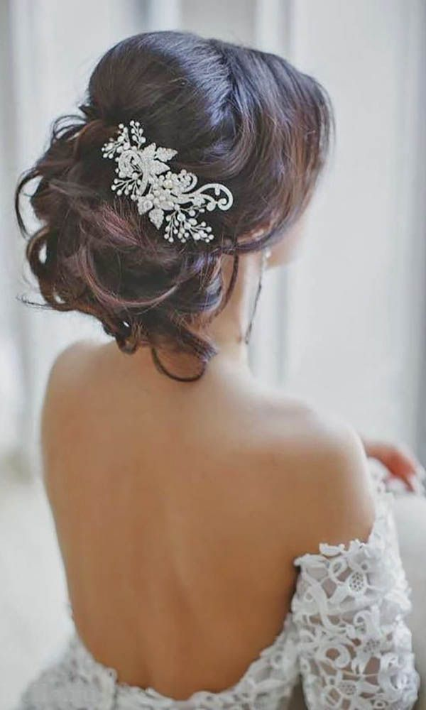 Wedding Hairstyles : ElStile long wedding hairstyles #bride #bridal ...
