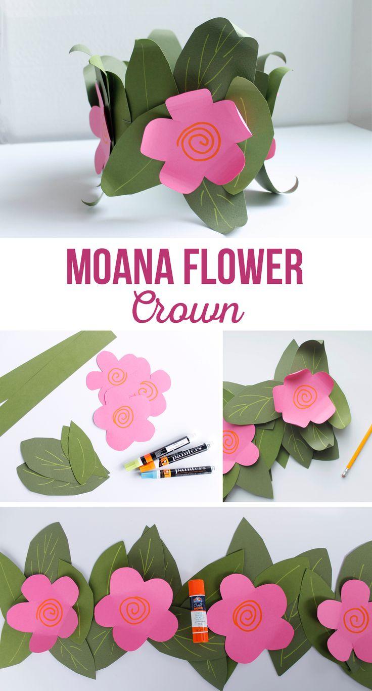 Paper flower crown diy doritrcatodos paper flower crown diy izmirmasajfo