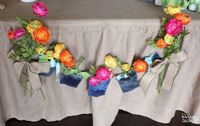 Best Ideas For Diy Crafts Quick Easy Flower Pocket Banner Design