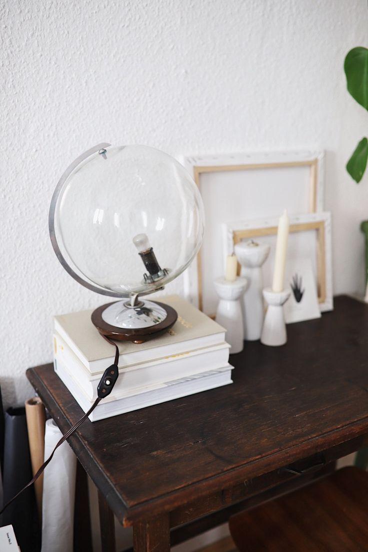 Af modish Diy Home : Upcycling: Vintage Globus Lampe - ListFender | Leading HU61