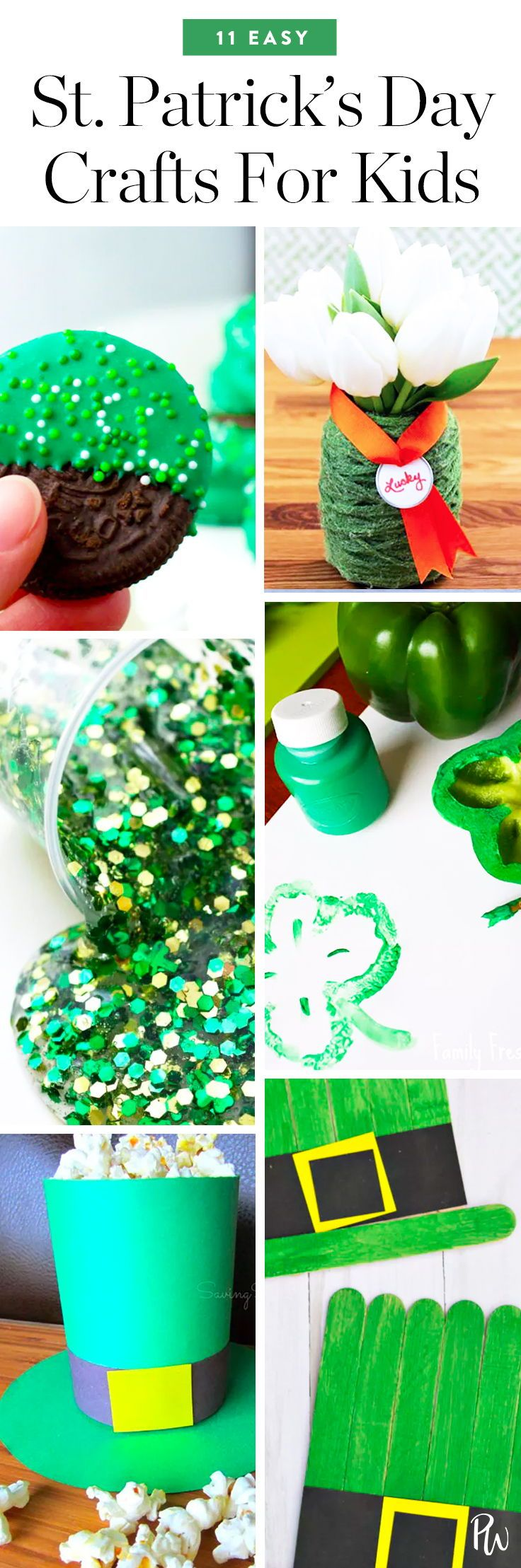 Life Hacks 11 Fun And Easy St Patricks Day Crafts For Kids
