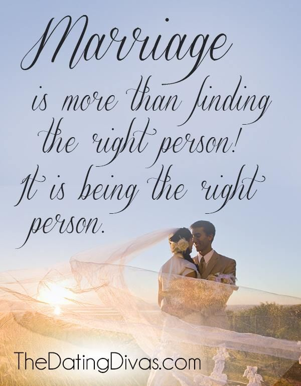 Love Quotes Marriage Is More Than Finding The Right Person It Is