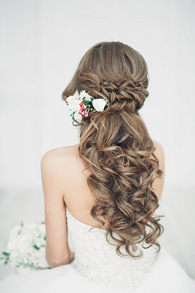 Cute Half Up Half Down Wedding Hairstyles Weddings Weddingideas