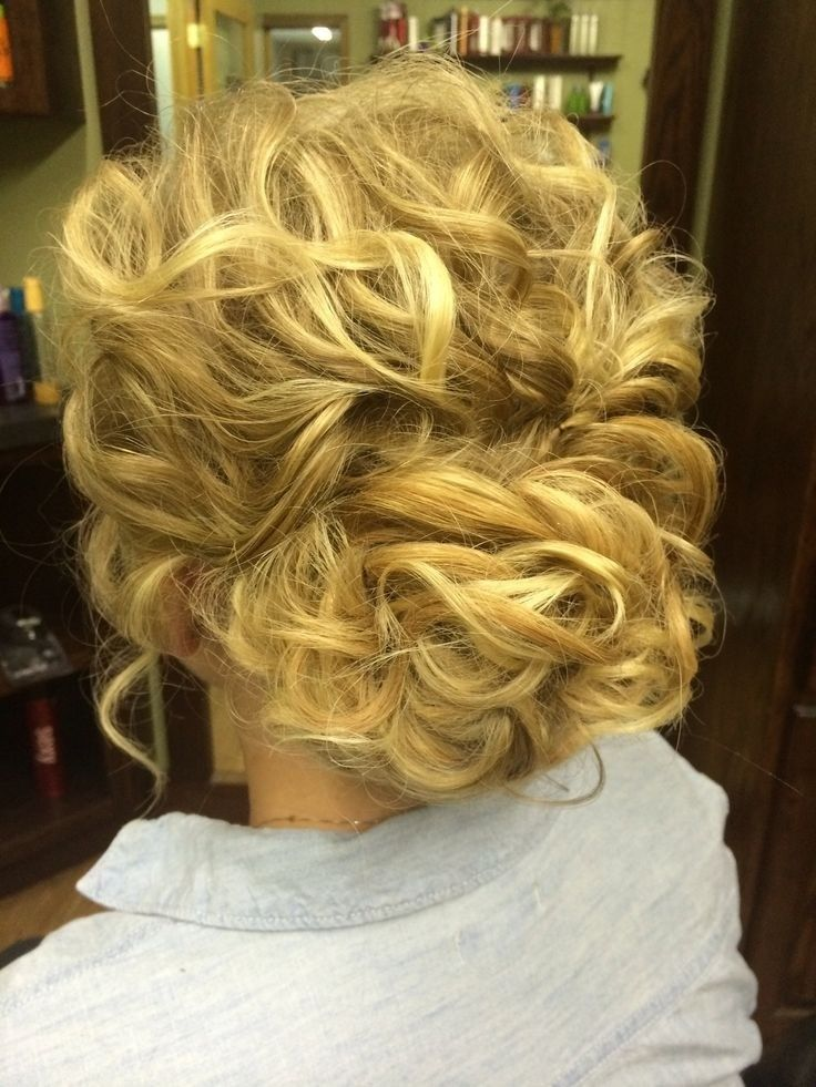 Wedding Hairstyles Messy Updo Hairstyles For Curly Hair Weddings
