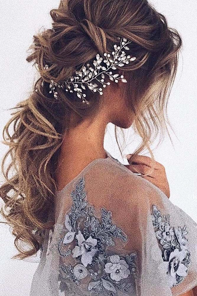 Wedding Hairstyles Top 20 Ulyana Aster Long Wedding Hairstyles