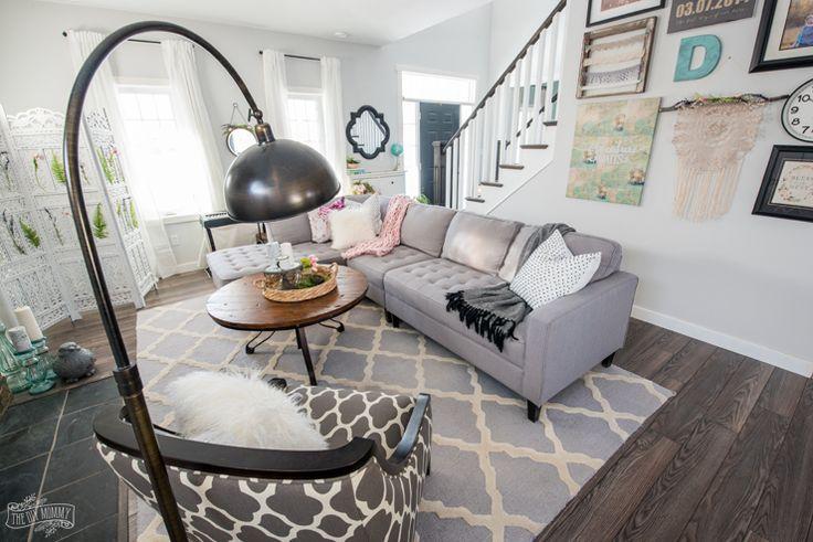 Description. 2018 Spring Decor Farmhouse Living Room Tour
