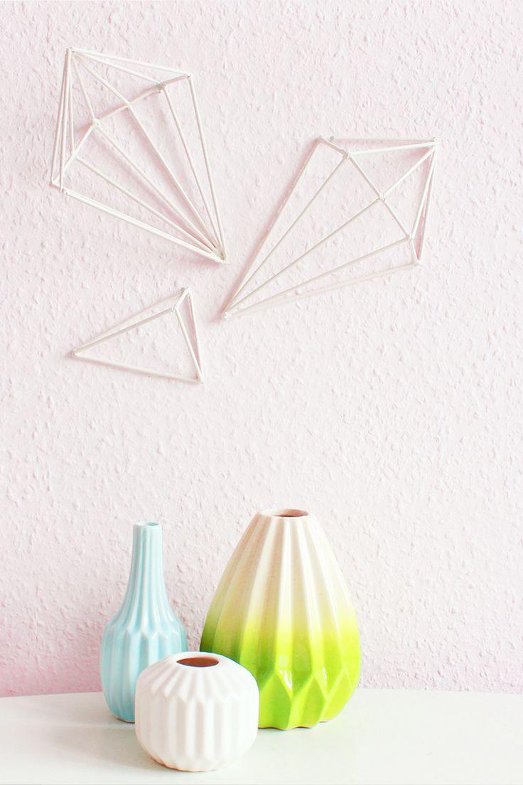 Diy Home Diy Geometric Wall Art Im Scandi Style Diese
