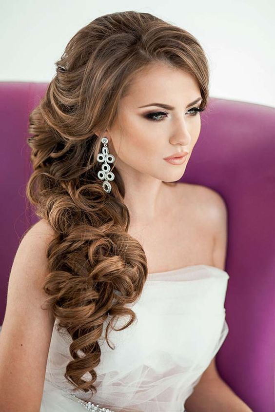 Hair Styles Ideas Brides Favourite Wedding Hairstyles For Long