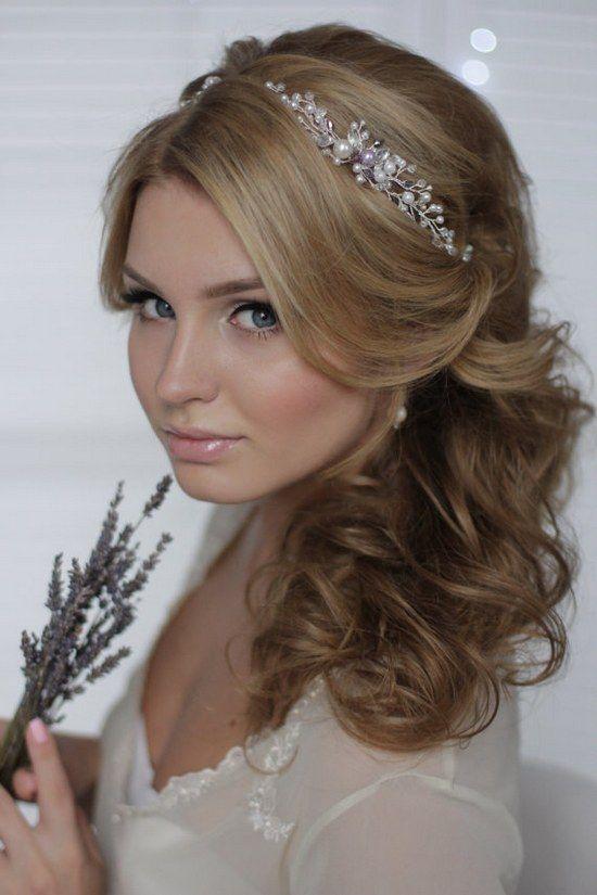 Wedding Hairstyles Crystal Decorated Wedding Bridal Hair Vine