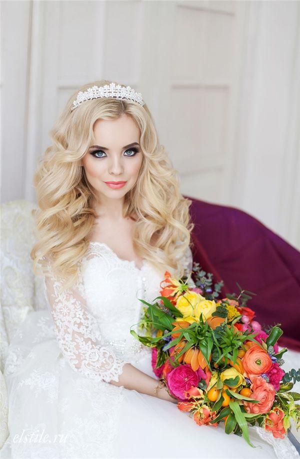 Wedding Hairstyles Princess Bridal Hairstyles And Long Sleeves