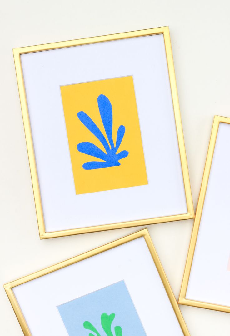 Diy Home : How to make Matisse inspired wall art for your home in 30 ...