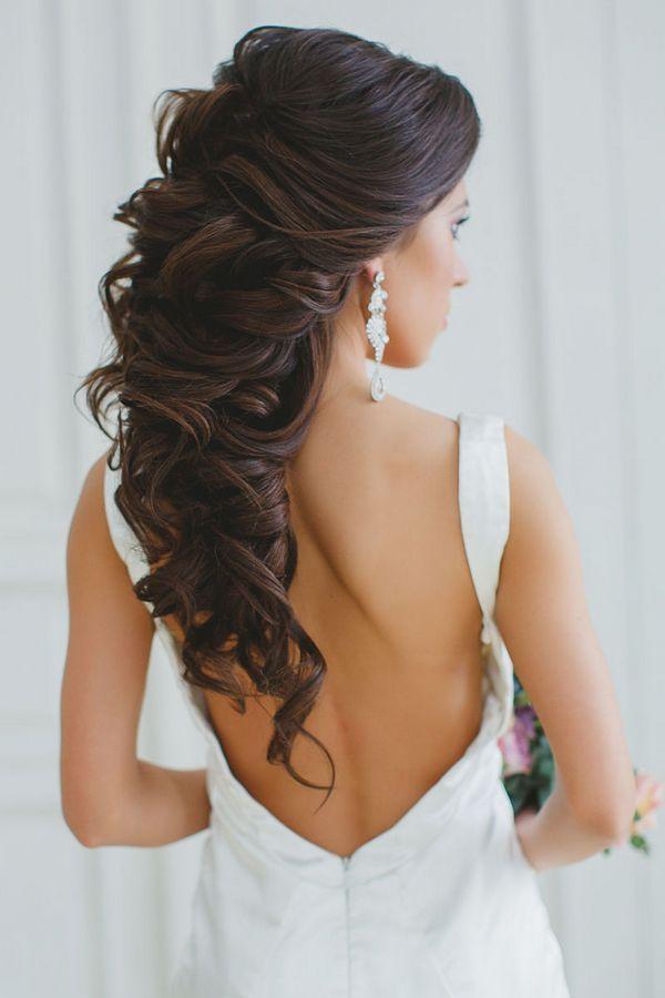 Description Long Wedding Hairstyles