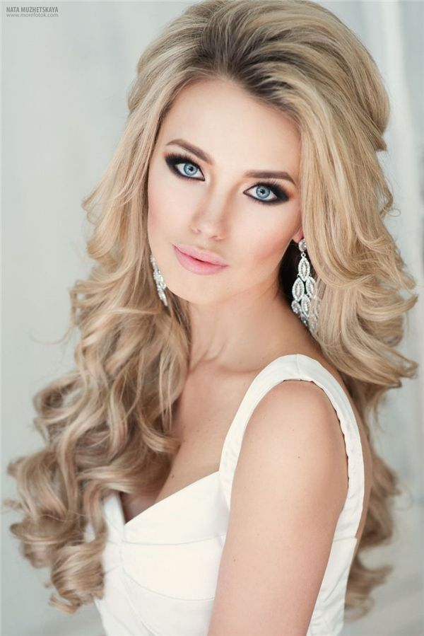 Wedding Hairstyles : Down Bridal Hairstyles for Long Hair / www ...