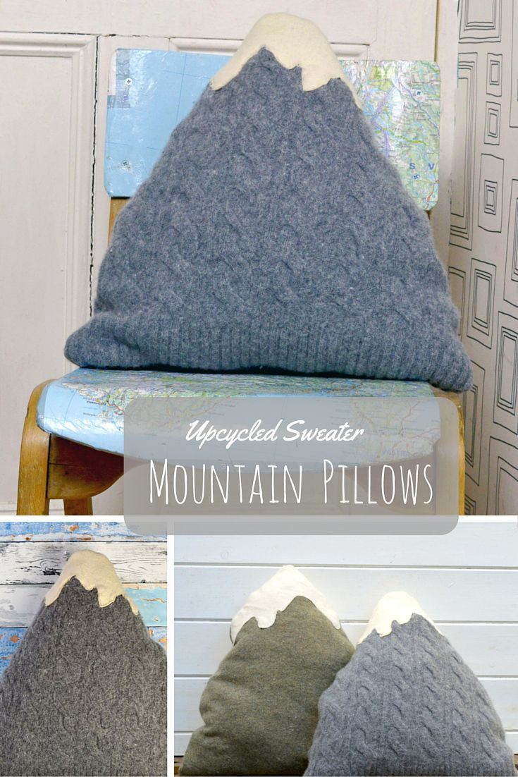 Diy Home Create Your Own Little Mountain Decor By Upcycling Your