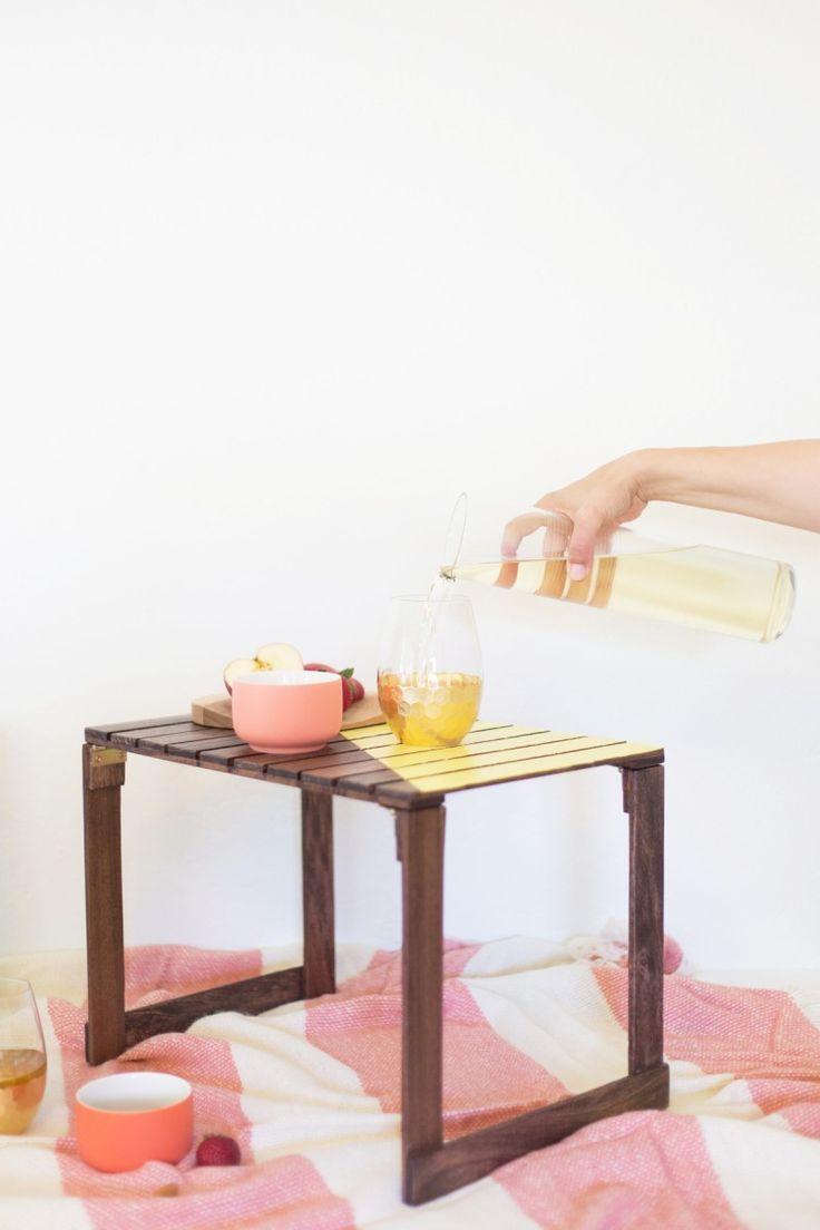 Diy Home : DIY Mini Picnic Tables. #summer #picnic #diy #food ...